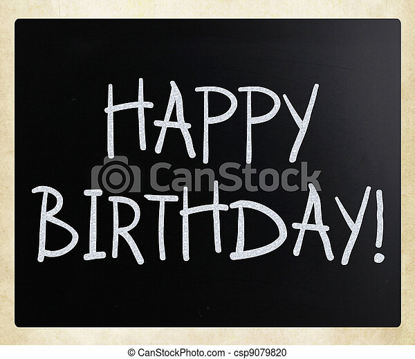 Happy Birthday! - csp9079820