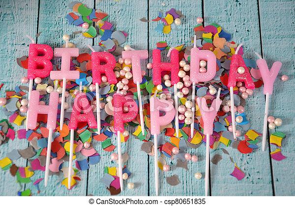 Happy Birthday - csp80651835
