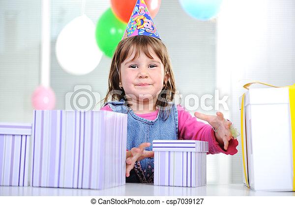 Happy birthday to you! - csp7039127