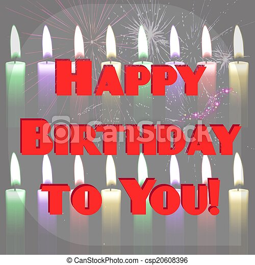 Happy Birthday to You! - csp20608396