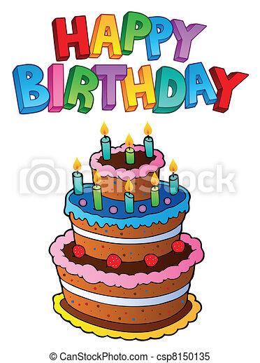 Happy Birthday topic image 1 - csp8150135