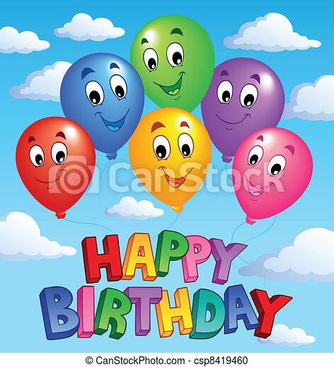 Happy Birthday topic image 3 - csp8419460