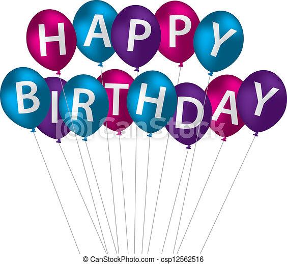 Happy Birthday! - csp12562516