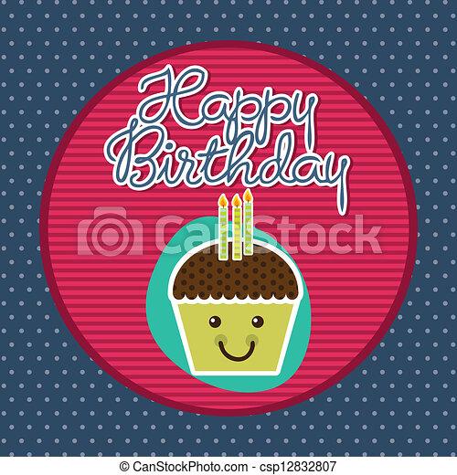 happy birthday - csp12832807