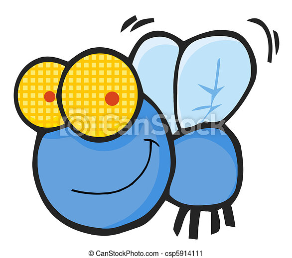 happy blue fly fly cartoon character vector clip art search rh canstockphoto com clip art flying saucers clip art flying saucers