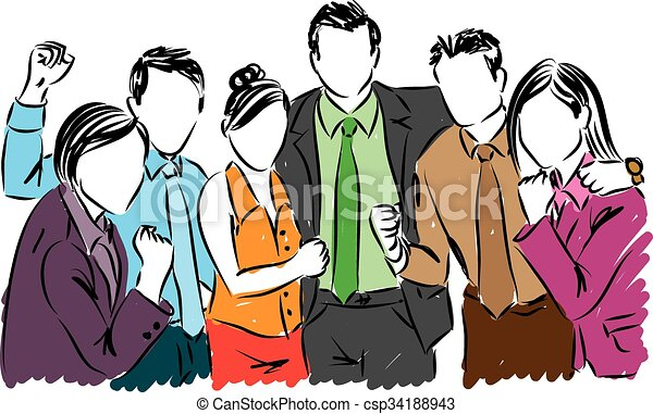 happy business people illustration eps vector search clip art rh canstockphoto com