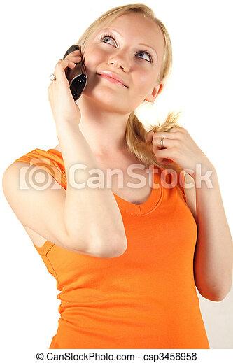 Happy Caller - csp3456958