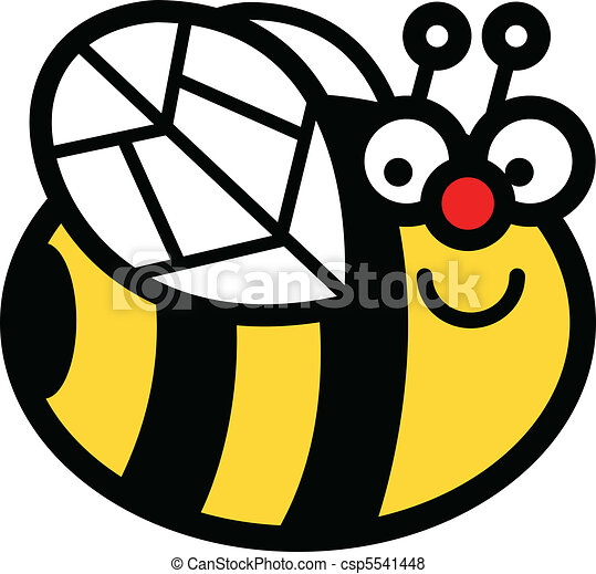 happy cartoon bumblebee clip art in vector format vector search rh canstockphoto com clipart bumblebee clipart bumblebee transformers