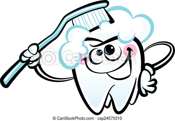 happy cartoon white molar tooth cha healthy cute cartoon vector rh canstockphoto com tooth clipart black and white tooth clipart png