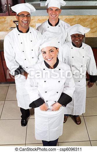 happy chefs - csp6096311