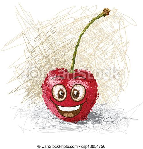 happy cherry - csp13854756