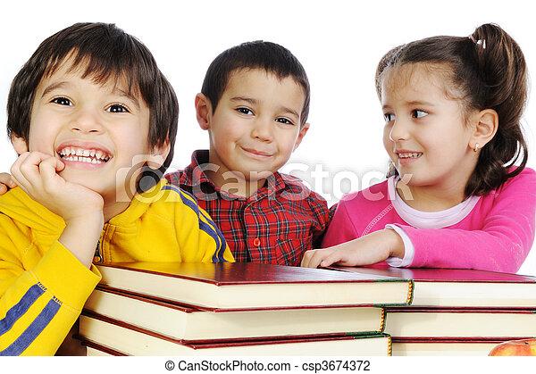 Happy childhood - csp3674372