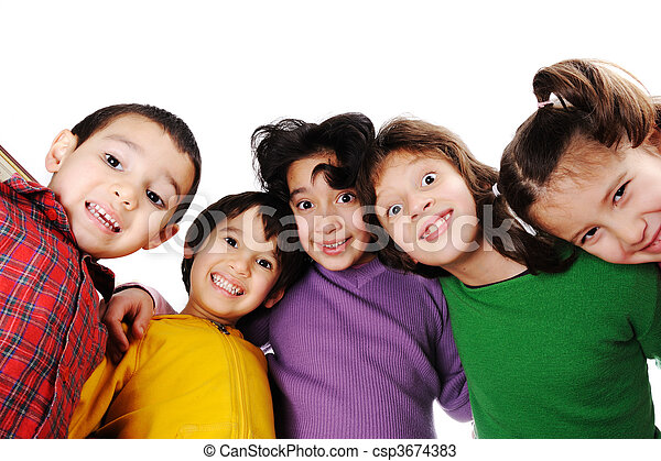 Happy childhood - csp3674383