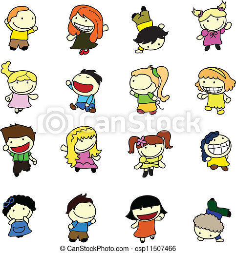 happy children - csp11507466