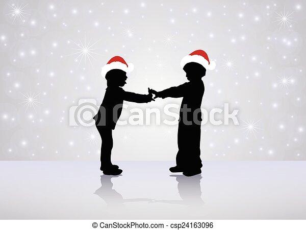 Happy children - csp24163096
