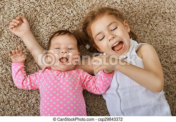 happy children - csp29843372