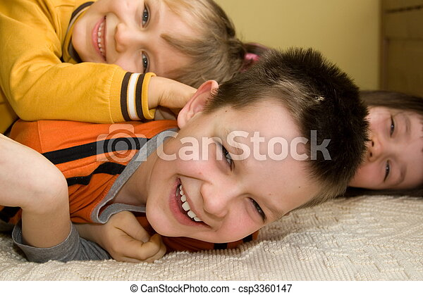 Happy Children - csp3360147