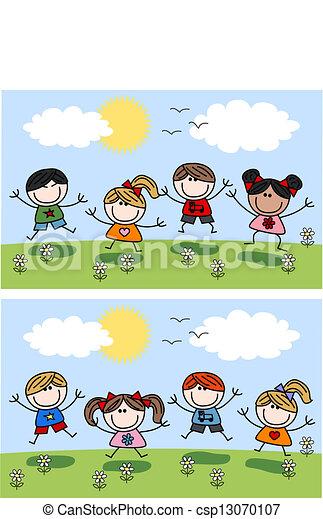 happy children spring summer header vector clipart clipart doves flying clip art doves images