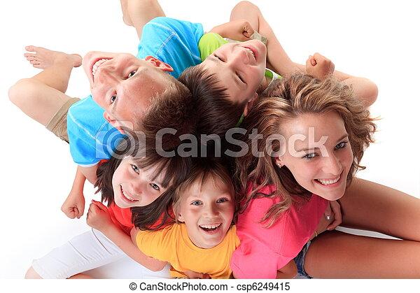 Happy Children - csp6249415