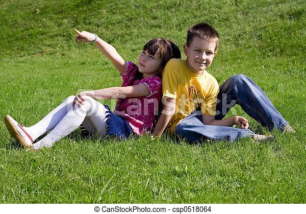 happy children - csp0518064