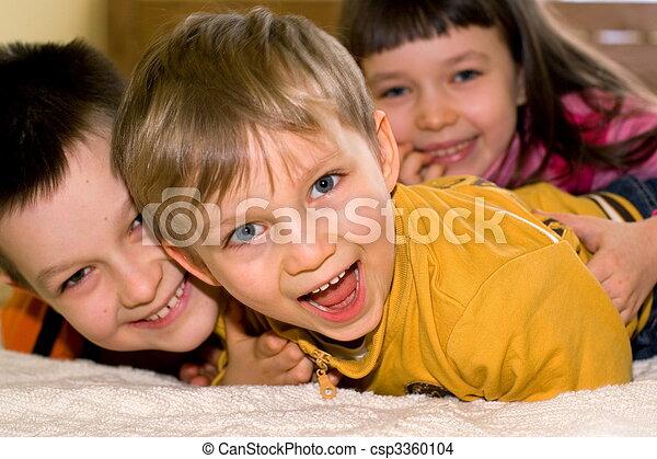 Happy Children - csp3360104