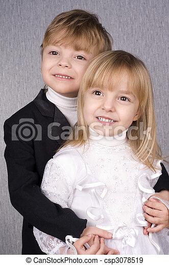 Happy children - csp3078519