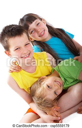 Happy children - csp5559179