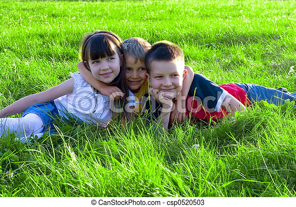 happy children - csp0520503