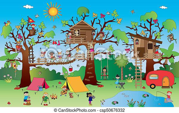happy children - csp50676332