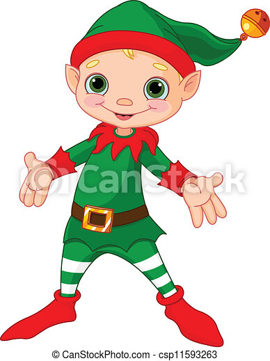 elf stock photos and images 27 275 elf pictures and royalty free rh canstockphoto com Animated Elf Dancing Silly Elf Clip Art