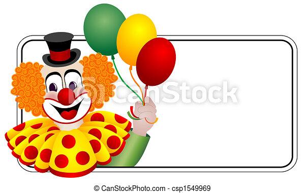 Happy Clown - csp1549969