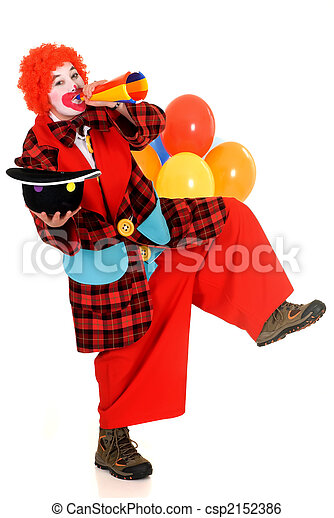 Happy clown - csp2152386