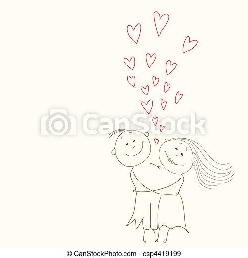 happy couple - csp4419199