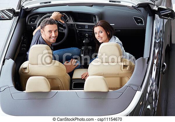Happy couple - csp11154670