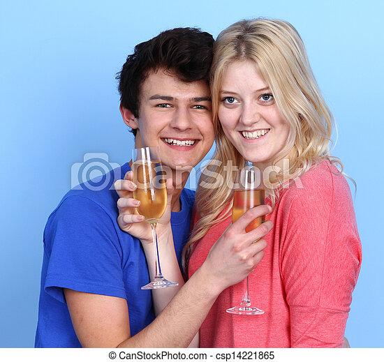Happy couple - csp14221865