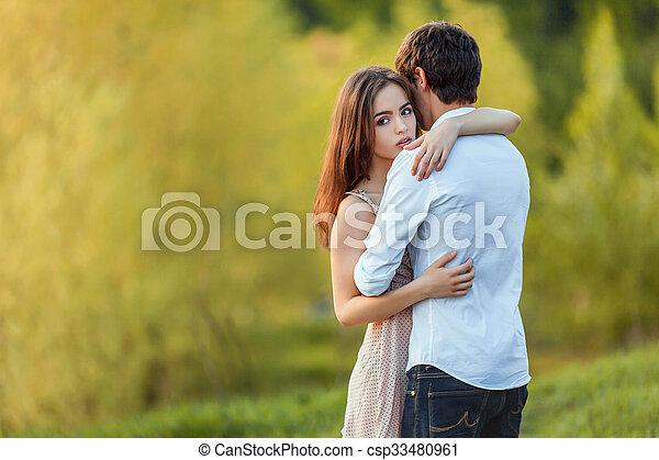 Happy couple - csp33480961