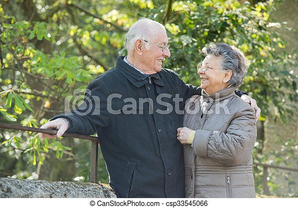 happy couple - csp33545066