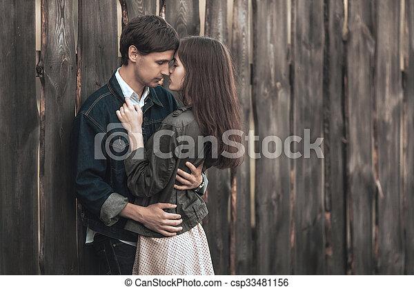 Happy couple - csp33481156