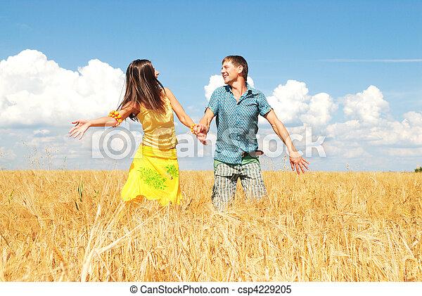 Happy couple - csp4229205