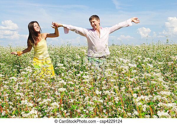 Happy couple - csp4229124