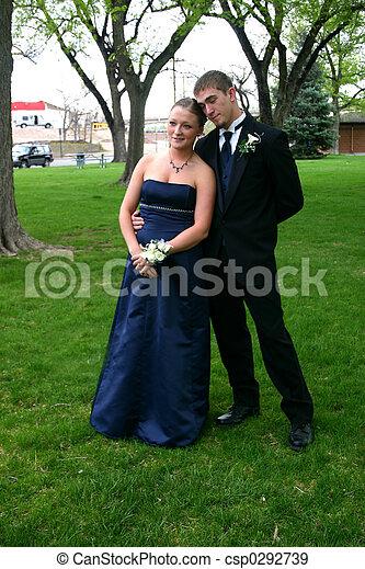 Happy Couple - csp0292739