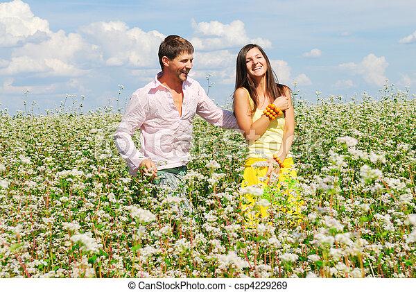 Happy couple - csp4229269