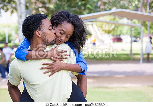 Happy couple - csp24825304