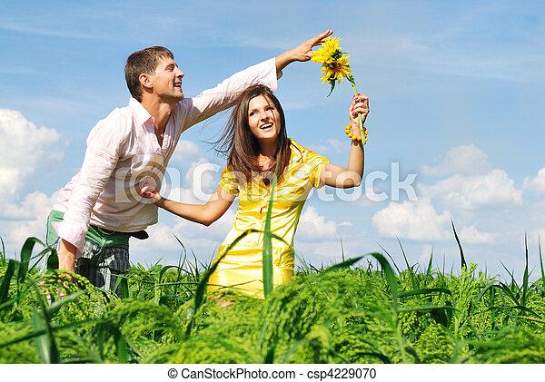 Happy couple - csp4229070