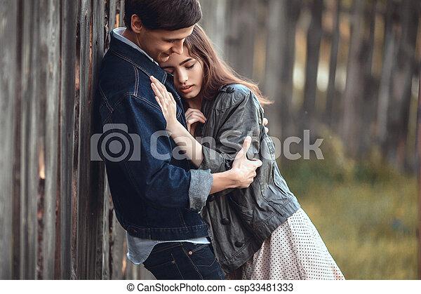 Happy couple - csp33481333