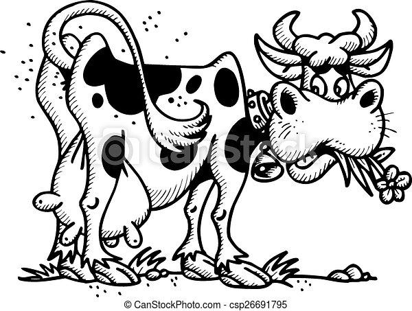 happy cow - csp26691795