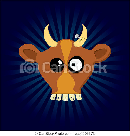Happy Cow - csp4005673