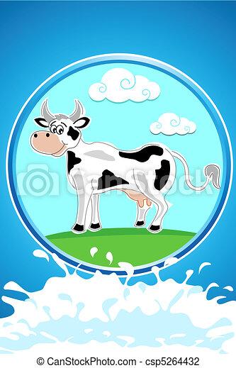 happy cow - csp5264432