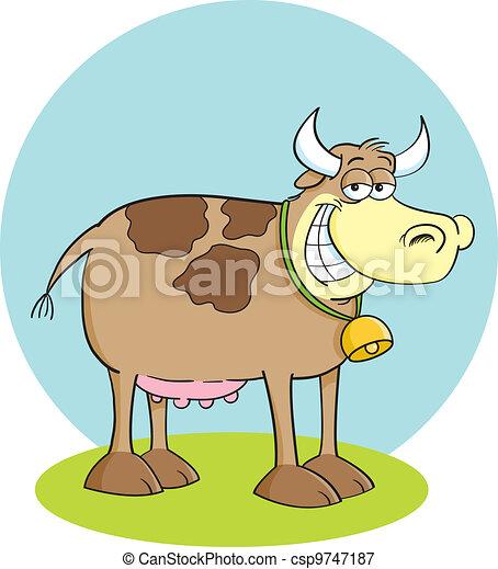 Happy Cow - csp9747187