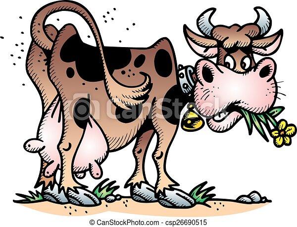 happy cow - csp26690515